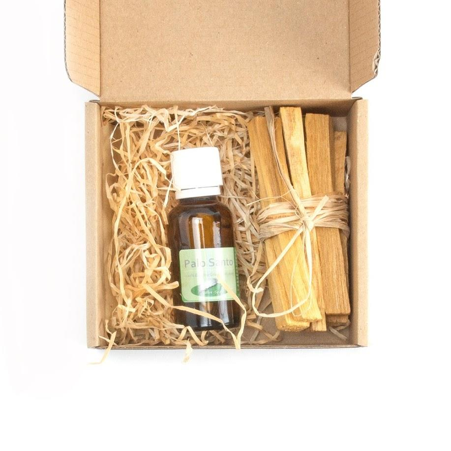 Palo sacred Santo Essential Oil - oel ist 100% pure (undiluted) 30 ml und 6 x Palo Santo Hölzer,  in