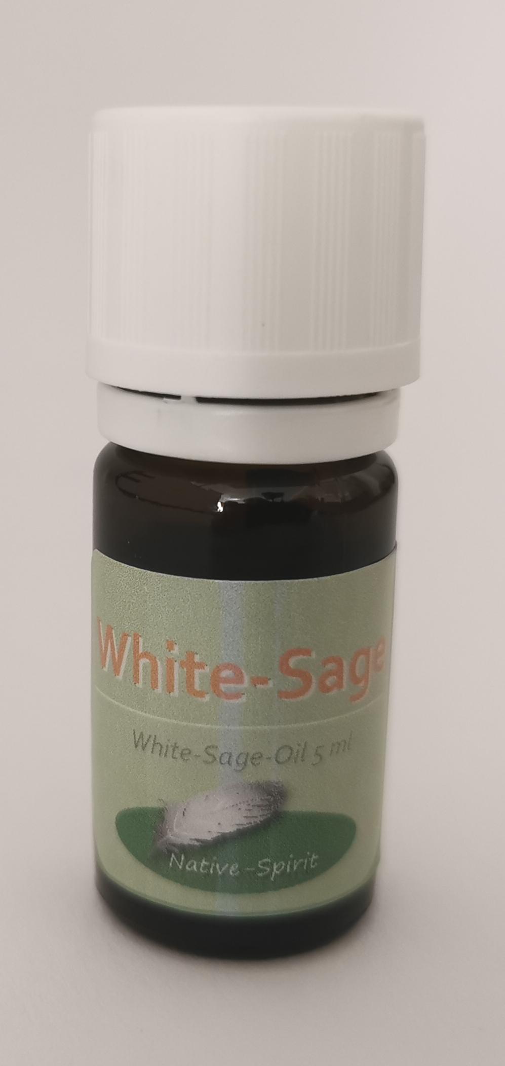 Weisser Salbei aetherisches oel - seltener, koestlicher erfrischender Duft aus dem suedwesten der US